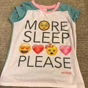 Other - Emoji 2 Piece Pajama Set